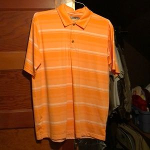 Pebble beach polo golf shirt Sz L